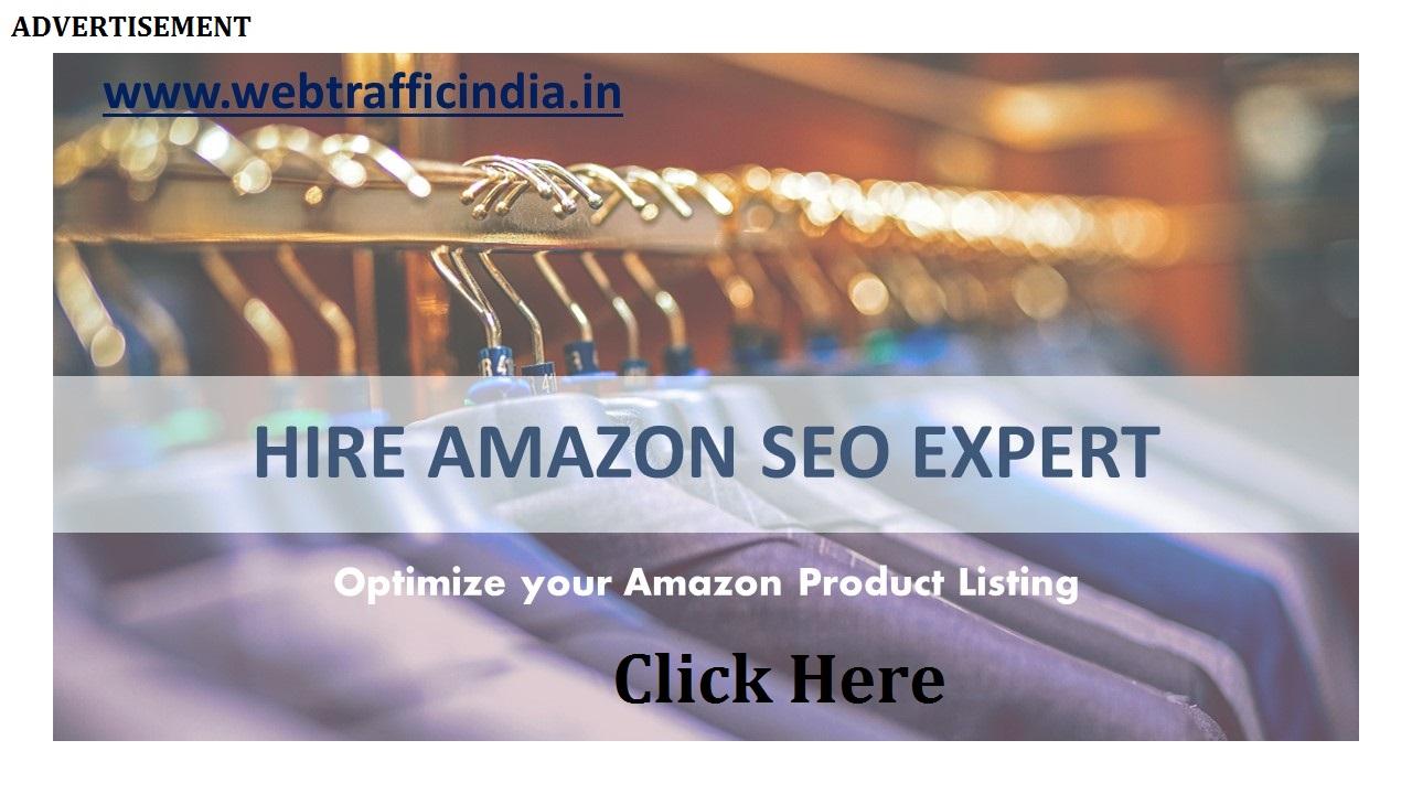Hire Amazon SEO Expert